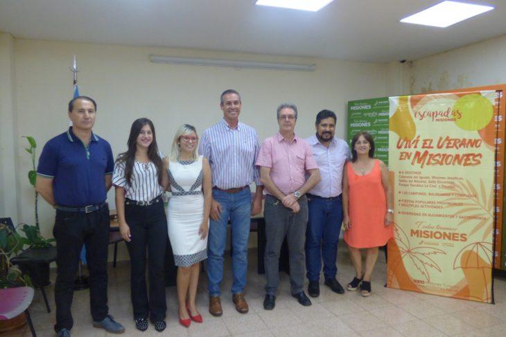 Desde el Ministerio de Turismo presentaron la Fiesta de la Biodiversidad y Ecoturismo que se realizará en El Soberbio en febrero próximo