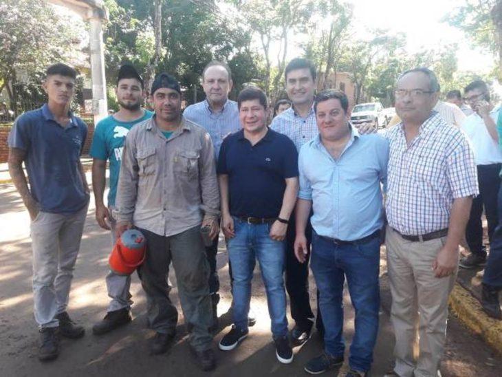 Eldorado: Alarcón supervisó operativo de prevención del dengue y visitó el Hospital Samic Eldorado