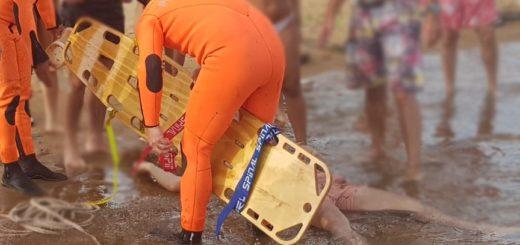 Un joven sufrió traumatismo de cráneo al arrojarse desde un muelle de la Isla del Medio en el río Paraná