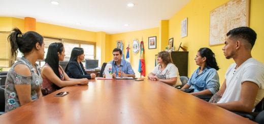 Eldorado: Fabio Martínez se reunió con la intendente de la localidad paraguaya de Carlos Antonio López