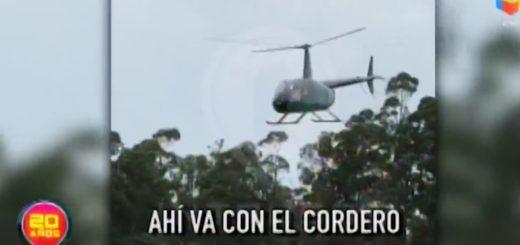 Un nuevo video del helicóptero desde el cual tiraron un animal sería la clave para identificar a los responsables