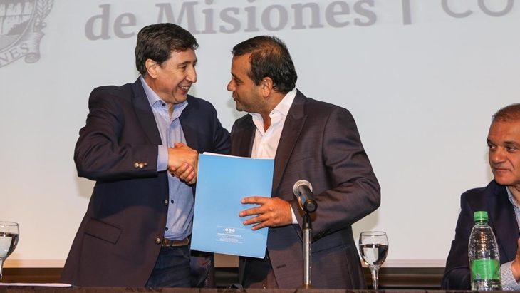 Daniel Arroyo en Misiones: se entregarán en la provincia 63 mil tarjetas alimentarias que dejarán 325 millones de pesos por mes