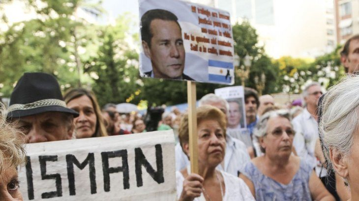 Realizan en Buenos Aires un acto en homenaje al fiscal Nisman a 5 años de su muerte