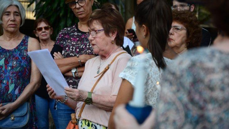 Un centenar de posadeños homenajearon a Nisman a cinco años de su muerte