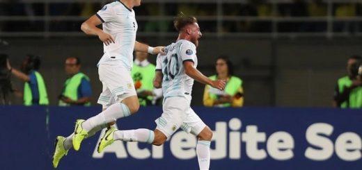 Preolímipico: la Selección de Argentina sub 23 derrotó a Colombia en el primer paso para llegar a Tokio 2020