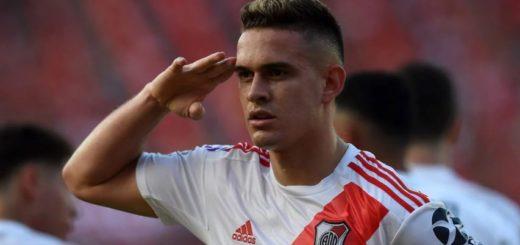 River venció 2-1 a Independiente en Avellaneda y se subió a la punta de la Superliga