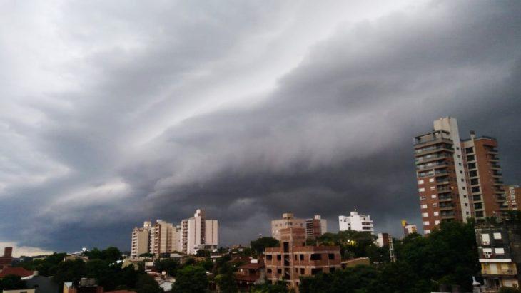 Una tormenta pasó por el sur de Misiones con abundantes lluvias