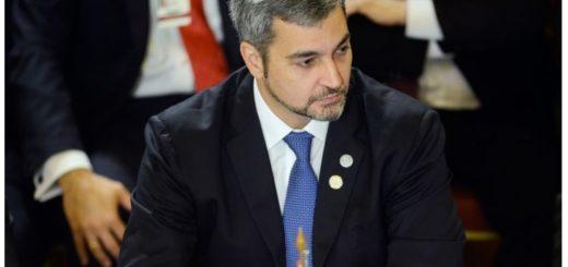 Confirman que el presidente de Paraguay Mario Abdo Benítez tiene dengue