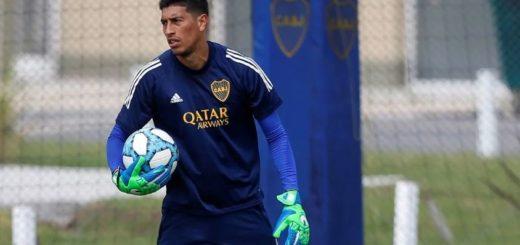 Boca: Andrada entrenó diferenciado y se perdería el partido contra Independiente