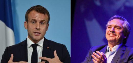 Alberto Fernández y Emmanuel Macron se reunirán el 5 de febrero en París