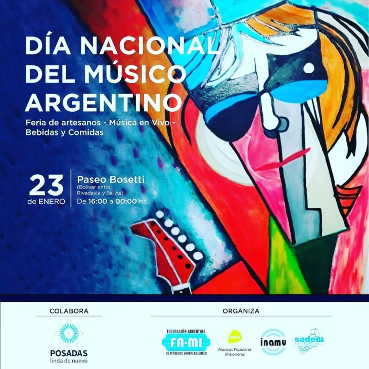 ¿Por qué celebramos hoy el Día del Músico Argentino?: mirá el cronograma de actividades que habrá en Posadas