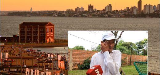 """""""¿En Pinamar sí pero acá no?"""": la queja de chiperos de Encarnación que tienen prohibido vender en la playa San José"""