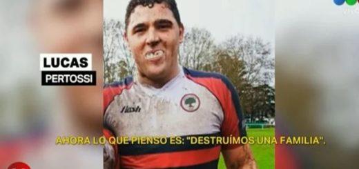 """Lucas Pertossi, uno de los rugbiers detenido por el crimen de Villa Gesell: """"Salimos a divertirnos y la vida nos jugó una mala pasada"""""""