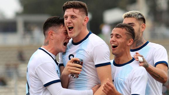 Argentina enfrenta a Chile en un partido clave para la Sub 23 en el camino a Tokio 2020