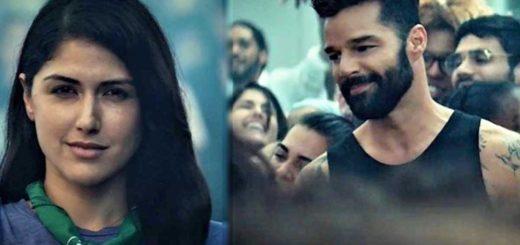 Una joven con pañuelo verde es la protagonista del nuevo videoclip de Ricky Martin