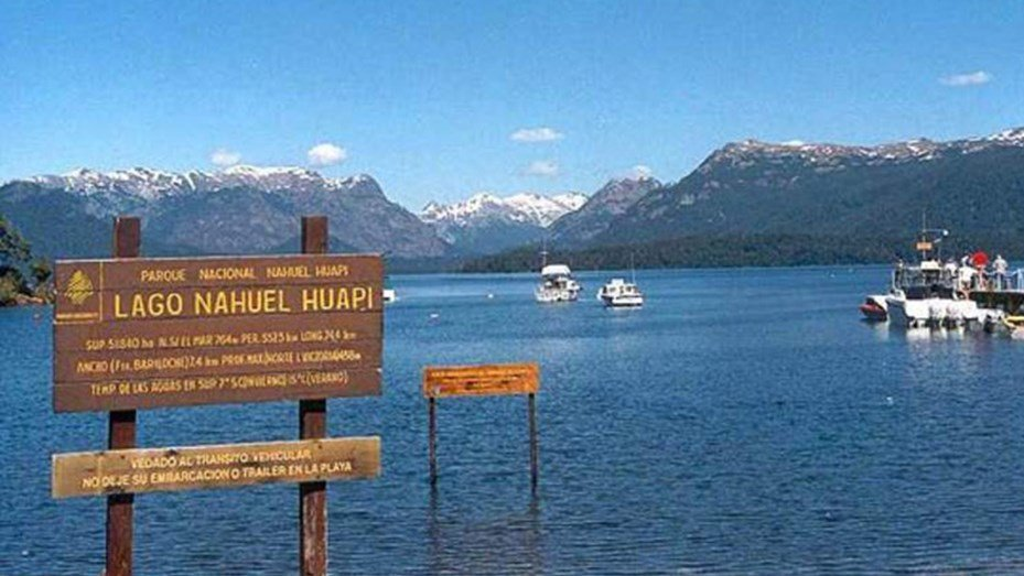 Un video capta un extraño fenómeno en el lago Nahuel Huapi ...