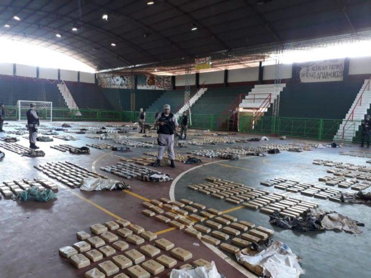 Misiones: dos toneladas de marihuana incautadas en un único operativo
