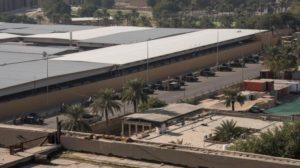 Tres cohetes impactaron en la embajada de Estados Unidos en Bagdad