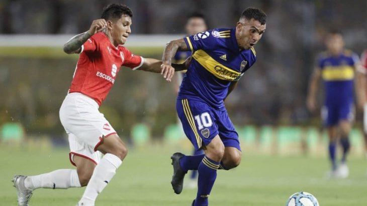 Súperliga: Boca empató sin goles con Independiente