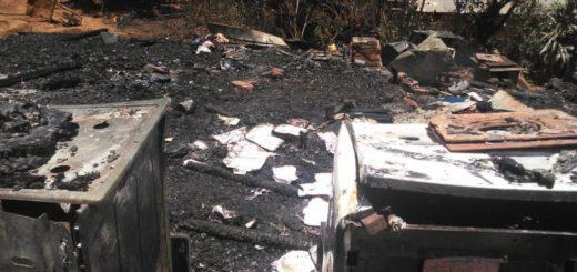 Terrible drama familiar: una madre y sus 9 hijos perdieron todo al incendiarse su casa en Eldorado
