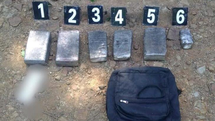 La Policía secuestró una mochila con tres kilos de marihuana en Capioví