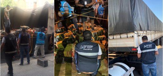 Aduana y la Policía de Entre Ríos secuestraron marihuana por un valor de más de un millón de dólares