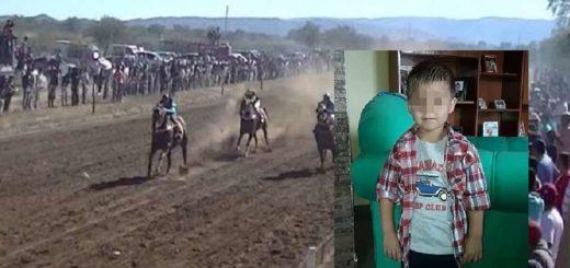 Mendoza: murió un nene de 6 años embestido por un caballo durante una carrera