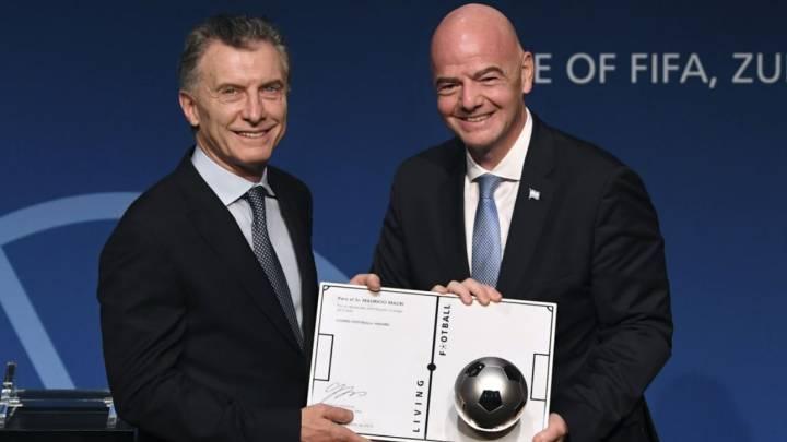Malestar en los dirigentes del fútbol argentino por la asignación de Macri como presidente de la Fundación FIFA