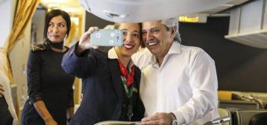 Alberto Fernández viaja a Europa para reunirse con el papa Francisco y mandatarios internacionales