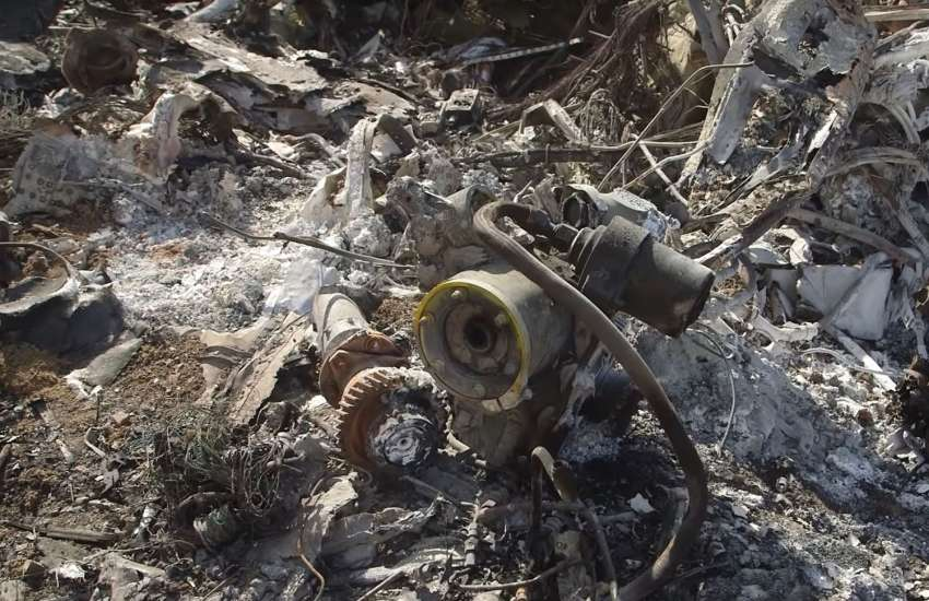 Las devastadoras imágenes del helicóptero estrellado donde murió Kobe Bryant