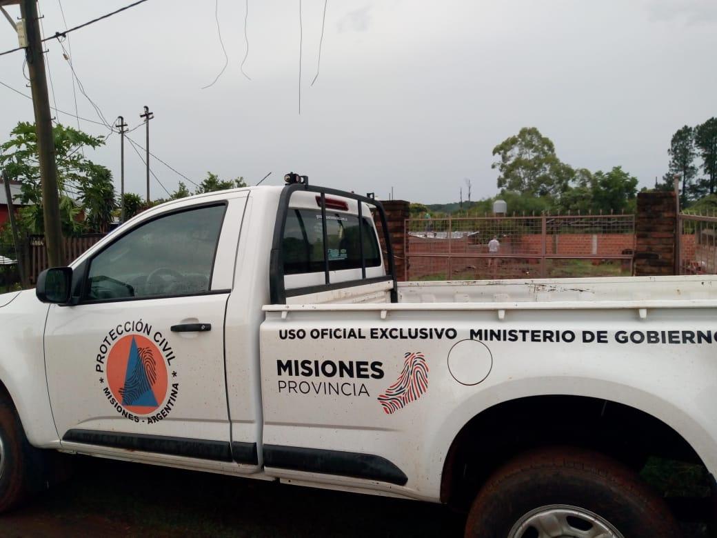 Temporal en Posadas: desde Protección Civil recomiendan no conducir ningún vehículo y resguardarse en las viviendas