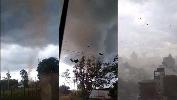 «Misiones no está exenta de tornados y lo ocurrido ayer no debería sorprendernos», dijeron desde Protección Civil