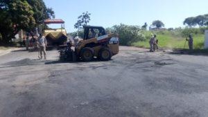 Concluyen el asfaltado de la avenida Aguado en Posadas y avanzan sobre arterias del microcentro