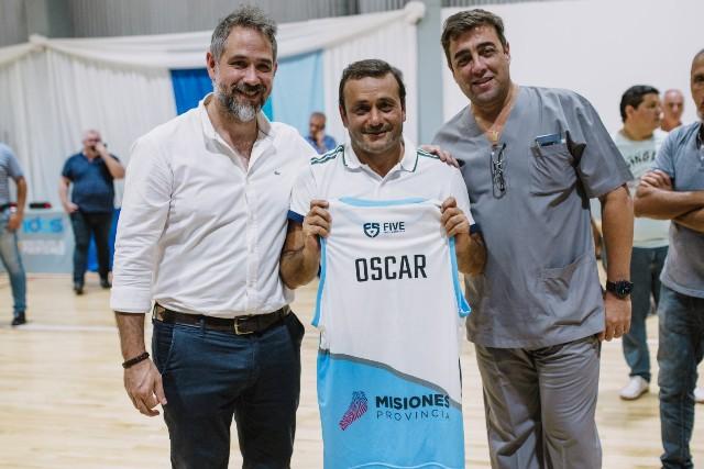 Herrera Ahuad ratificó el compromiso del Gobierno con el deporte