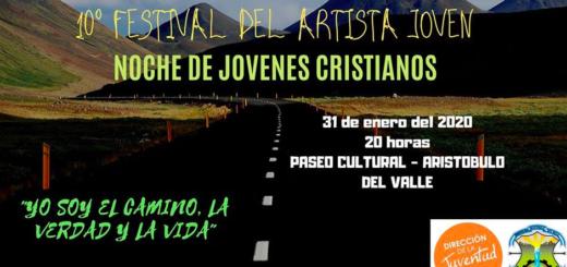 Esta noche arranca el Festival del Artista Joven en Aristóbulo del Valle