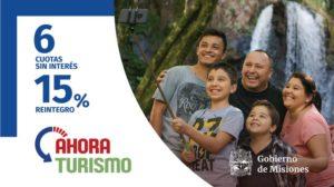 Vacaciones en Misiones: hoy y mañana rige el programa #AhoraTurismo con un reintegro del 15%