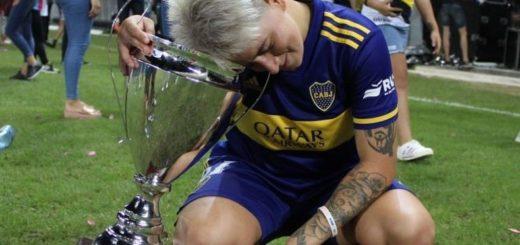 Fútbol Femenino: con la misionera Yamila Rodriguez, Boca venció a River y se consagró campeón
