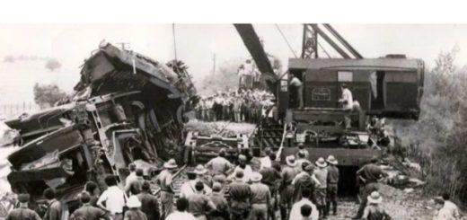 Hoy se cumplen 50 años de la peor tragedia ferroviaria argentina