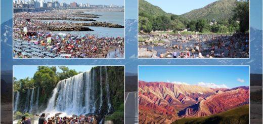 El turismo interno en Argentina tuvo un gran enero