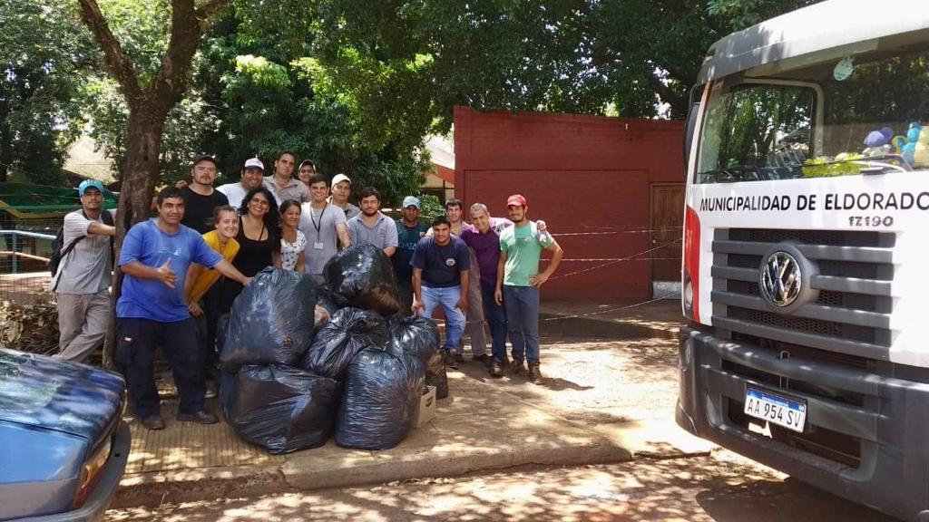 """Fabio Martínez: """"Invito a la comunidad a sumarse al desafío de mantener nuestros espacios limpios y lindos"""""""