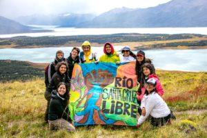 Inédita travesía en kayak por el río Santa Cruz realizarán jóvenes que participan del Intercambio Intercuencas 2020 en la Patagonia