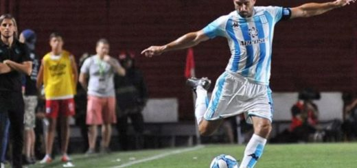 Lisandro López sufrió una sobrecarga muscular y es duda para el clásico ante Independiente