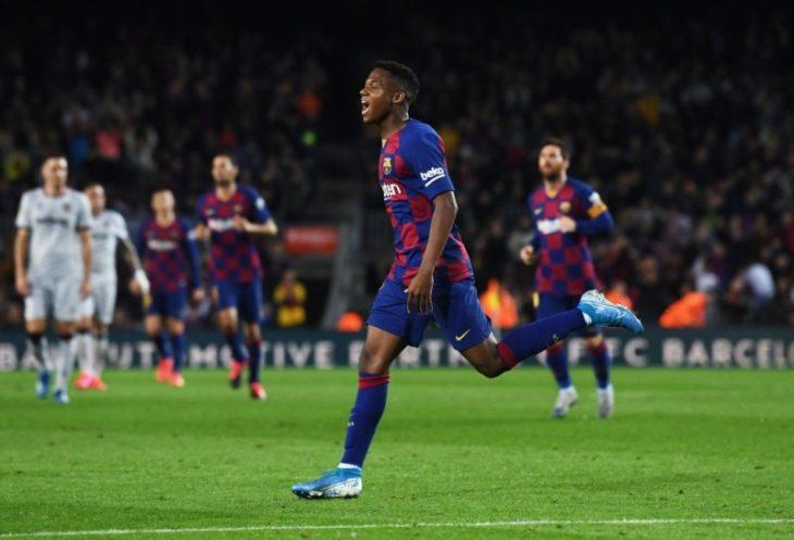 Deportes: con dos goles de Ansu Fati, Barcelona le ganó al Levante por La Liga en el Camp Nou