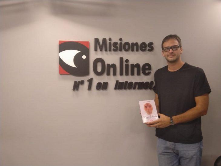 El escritor misionero Sebastián Borkoski presentará una obra inédita durante la Feria Internacional del Libro de La Habana