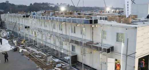 Nuevo récord chino: este domingo inauguraron el hospital construido en diez días