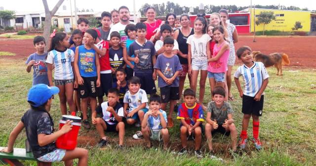 Más de 2.400 niños y jóvenes participan de las Escuelas Municipales Deportivas