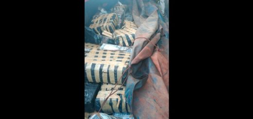 Policía de Misiones incautó un camión de Brasil que llevaba varias toneladas de droga