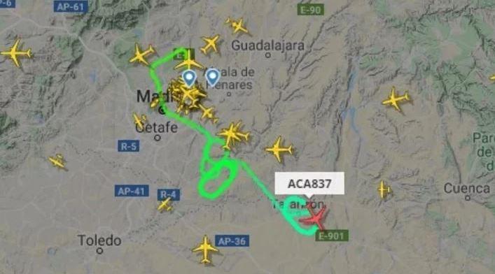 VIVO. España: avión con 130 personas a bordo se dispone a aterrizar de emergencia por falla de motor en Madrid