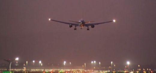 España: aterrizó con éxito el avión que tuvo en vilo a Madrid por varias horas