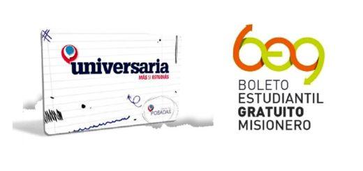 A través de la Agencia Universitaria Posadas se puede tramitar la tarjeta Universaria para descuentos y también el Boleto Estudiantil Gratuito